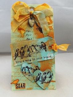 Stamps Artistic Outpost:Songbirds