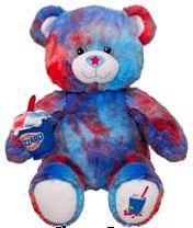 DQ Dairy Queen Build A Bear Berry Cherry Blizzard Ice Cream Unstuffed Toy Teddy Animal Brand New with Tag Retired BAB Summer Series Collection In Stock Now @ http://www.bonanza.com/booths/TweetToyShop