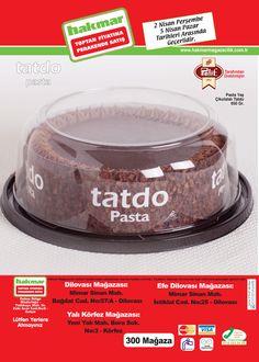 Tatdo Pasta; 2-5 Nisan tarihlerinde Dilovası, Efe Dilovası, Yalı Körfez Mağazalarımda satıştadır. #tatbak #hakmarekspres #tatdo #pasta #insert