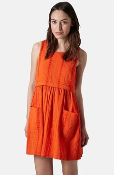Topshop Overlay Tunic Dress available at #Nordstrom
