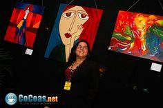 Starfest 2011 - primera vez que expuse mis pinturas.
