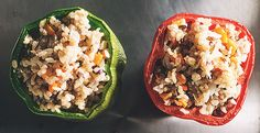 The Stash Plan Recipe: Stuffed Peppers - Tips on Life and Love