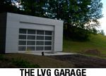 Havens South Designs loves the idea of a double sided garage between the yard and the alley