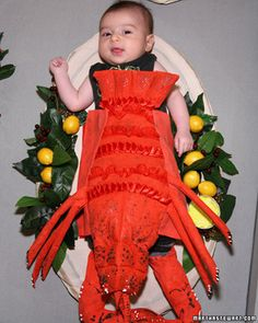 Little Lobster — Your little one will be the star of the season dressed in one of these memorable Halloween costumes.