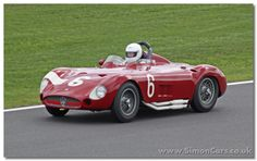 1956 Maserati 300S is in the configuration raced by Stirling Moss to victory on the Nurburgring 1956