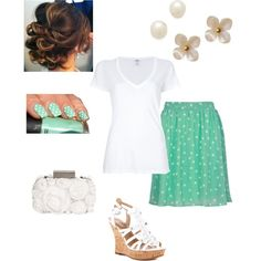 Easter outfit, created by haydenmaxon on Polyvore