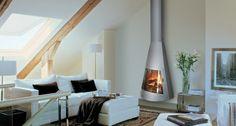 Nostrum.   Estufas y hogares de chapa y acero  con el estilo más contemporaneo