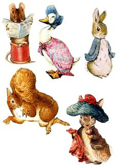 Beatrix Potter Peter Rabbit Wallies