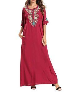 Vamoro 2019 Summer Fashion Women Summer Casual Pockets Strappy Long Dress Beach Holiday Cami Split Maxi Dress for Ladies