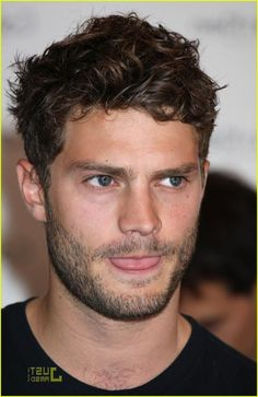 Jamie Dornan. No, he wasn't my first pick for Christian Grey, but who cares! Take that role and own it, Jamie!  You're gorgeous!