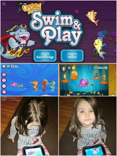 Captain McFinn's Swim & Play #app for #preschoolers encourages social and emotional growth and is the only app to feature live interactive play! #Preschool
