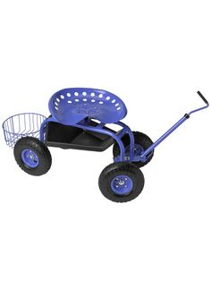 Deluxe Tractor Scoot with Bucket Basket This should also be helpful for senior citizens working in gardens