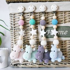 New Diy Baby Toys Newborn Free Knitting Ideas Newborn Crochet Patterns, Knitting Patterns, Knitting Ideas, Knitting Projects, Baby Mobile, Baby Kicking, Baby Rattle, Baby Bunnies, Diy Baby