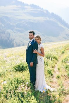 Modest wedding dress by Jenny Packham at  Alta Moda.  Photo by Tessa Barton