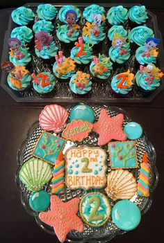 Bubble guppies cupcakes & cookies
