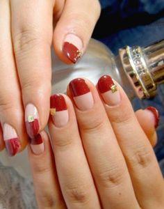 Dịu dàng với mẫu nail - Gentle nail form