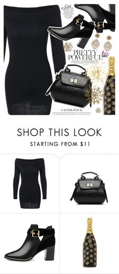 """Mery Christmas"" by vanjazivadinovic ❤ liked on Polyvore featuring Ted Baker, Marc Jacobs, Miguel Ases, Whiteley, polyvoreeditorial and gearbest"