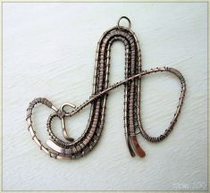 42 Best Wire Woven Alphabet Ideas Images Wire Weaving