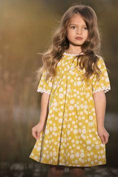 Yellow Penny Dress   246 YLW