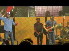 "Darius Rucker ""Hold My Hand"" (Feat. Brett Eldredge, The Brothers Osbourn...Hootie and the Blowfish!"