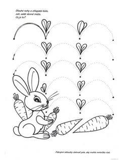 Risultati immagini per pracovní listy jaro April Preschool, Preschool Writing, Montessori Preschool, Tracing Worksheets, Preschool Worksheets, Ways Of Learning, Kids Learning, Prewriting Skills, Kindergarten Centers