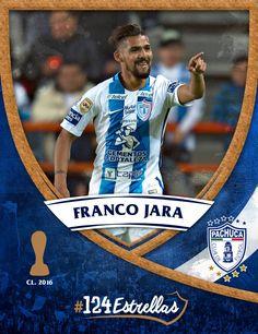 #Cientoveinticuatro estrellas: Franco Jara #ElÚnicoEnMi Pachuca Cf, Soccer, Baseball Cards, Sports, Legends, Stars, Hs Sports, Futbol, European Football