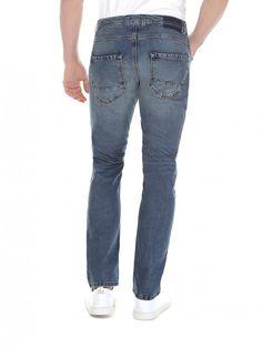 Super skinny fit cropped jeans dark blue Sisley