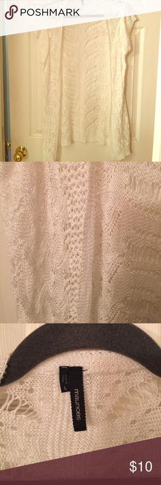 Short sleeve cardigan sweater Maurice's white short sleeve cardigan Maurices Sweaters Cardigans