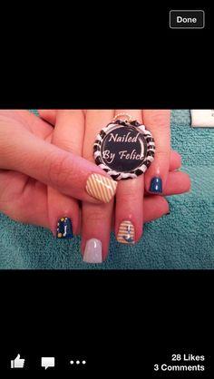 Nail ideas Love Nails, Fun Nails, Mani Pedi, Nail Arts, Class Ring, Nail Designs, Nail Polish, Nail Ideas, Porn