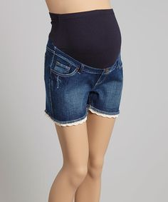 Look what I found on #zulily! Sand Wash Maternity Cutoff Shorts - Women #zulilyfinds
