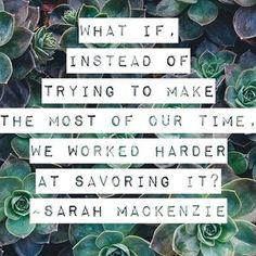 I'm pondering this question today. 🤔 For a girl who likes to get it done, check off the lists ✅ and move on to the next thing, this question stopped me in my tracks. I'm not sure why this is such a hard concept for me to take to heart and live out. But I'm not giving up...I will fight the need to produce all the time... I think I just might need a big sign to greet me every morning with the reminder to slow down, press pause and savor the moments 😊💕#pressingpause #motherhood #momlife