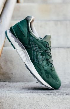 Asics Gel Lyte V  Dark Green  1efb39360dff1