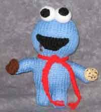 Cookie Monster and other knitting patterns
