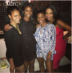 Beautiful women Regina Hall, Gabrielle Union, Nia Long, and Sanaa Lathan Nia Long, Sanaa Lathan, Black Girls Rock, Black Girl Magic, My Black Is Beautiful, Beautiful People, Beautiful Women, Black Celebrities, Celebs