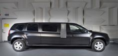 Dacia Duster limousine Plus Renault Nissan, Automobile, Dacia Duster, Weird Pictures, Limo, Tractor, Cars And Motorcycles, Camper, Vans