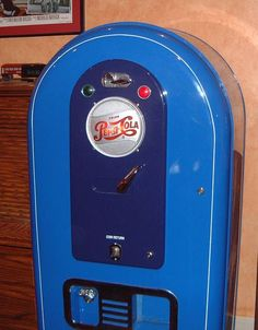 Jacobs 56 Pepsi light-up Vending Machine Fully Restored – RonSusser.com