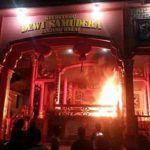 Buddhistische Tempel geschändet