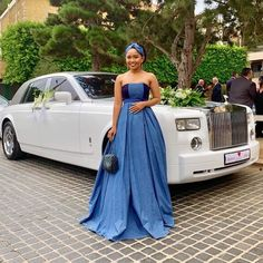 African formal attire for black women – shweshwe by Laviye - African styles Laviye. African Inspired Fashion, Latest African Fashion Dresses, African Print Dresses, African Print Fashion, African Dress, Africa Fashion, Setswana Traditional Dresses, South African Traditional Dresses, Traditional Wedding Attire
