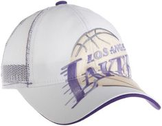 NBA Women's Slouch Adjustable Mesh Back Hat - Er43W, Los Angeles Lakers, One Size , Los Angeles Lakers , White adidas. $17.75. Save 23% Off!