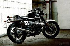 Karles Vives' wicked custom R100 RT Scrambler.
