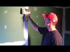 How to mud and tape drywall [2of2] - YouTube