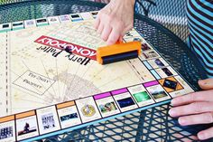 Create your DIY Harry Potter Monopoly Game with our step by step tutorial and FREE printables. Make this game for any Harry Potter lover! Harry Potter Monopoly, Harry Potter Dolls, Harry Potter Magic, Harry Potter Halloween, Harry Potter Decor, Harry Potter Christmas, Harry Potter Birthday, Monopoly Game, Make Your Own Monopoly