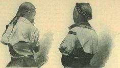 Casopis cesky lid VIII.   Děvče horňácké ve všedním úboru