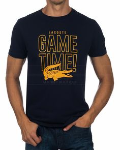 mens t shirts at debenhams Lacoste T Shirt, Lacoste Sport, T Shirt Storage, Camisa Nike, Cool Shirt Designs, Navy Blue T Shirt, Shirt Print Design, Quality T Shirts, Dye T Shirt