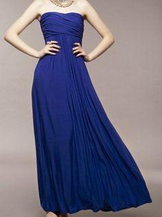 nice  Bohemia lady style sexy long weep formal dress -