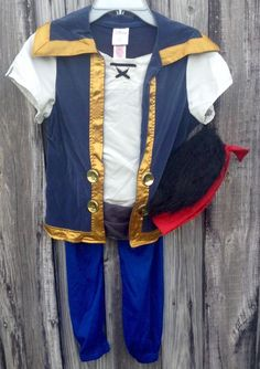 Disney Store Jake & the Never Land Pirates Costume Set Boys Size 7/8 #Disney #Outfit