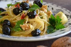 Oh yum!  From the view from Great Island: Sicilian Lemon and Pepper Pasta