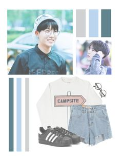 """Jung Hoseok"" by lilian95 ❤ liked on Polyvore featuring Chicnova Fashion, adidas, Retrò, kpop, bts, BangtanBoys, Jhope and JungHoseok"