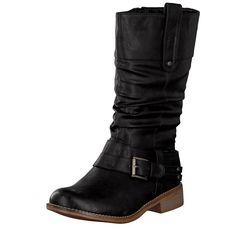 Rieker women boot black 95672-00
