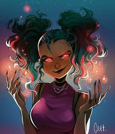 Here, you will find some of my works such as illustrations, character design and concept art. Black Girl Cartoon, Black Girl Art, Black Women Art, Pretty Art, Cute Art, Character Inspiration, Character Art, Art Magique, Witch Art
